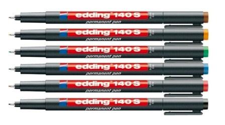 edding 140 S. Ανεξίτηλος μαρκαδόρος