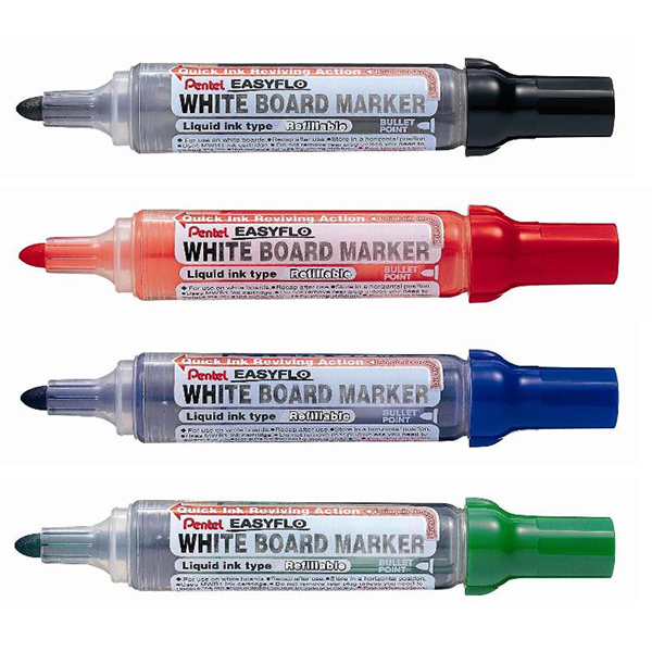 Μαρκαδόρος λευκού πίνακα Pentel EasyFlo-MW50M