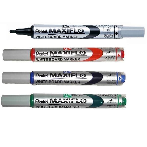 Μαρκαδόρος λευκού πίνακα Pentel MaxiFlo-MWL5S