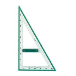 Πλαστικό Ορθογώνιο Τρίγωνο 30°-60° για πίνακα μαρκαδόρου