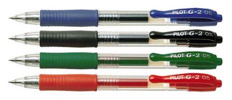 Στυλό gel Pilot G-2 0.5mm