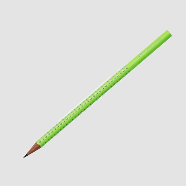 Μολύβι Faber Castell Grip 2001HB Sparkle Φυστικί