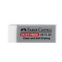 Γόμα Faber-Castell-Λευκή-187120