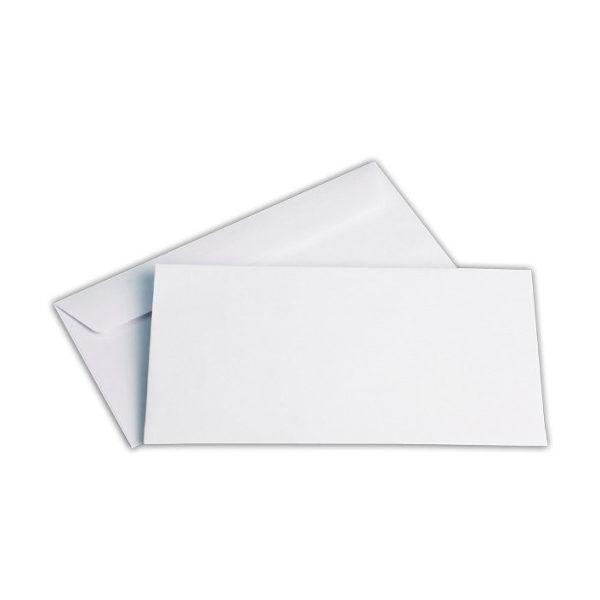 Φάκελος αλληλογραφίας Λευκός 11,4 x 23
