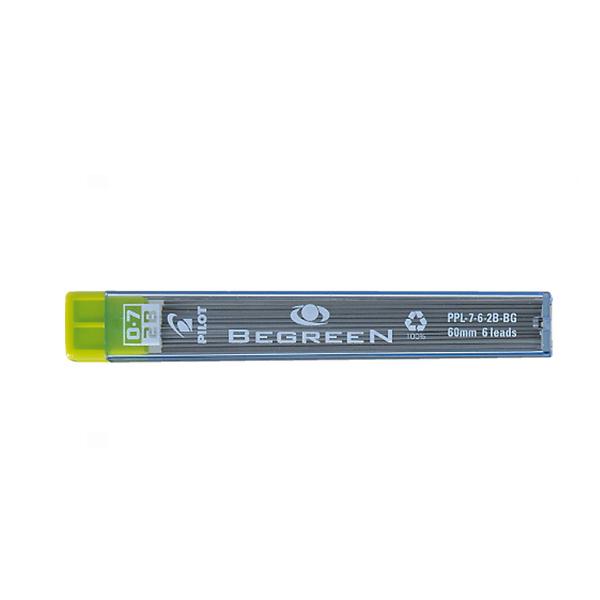 Begreen-Pilot Μύτες για μηχανικό μολύβι 0.7mm 2B
