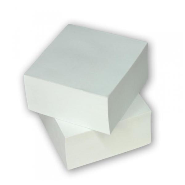 Λευκά ανταλλακτικά χαρτάκια σημειώσεων κύβου