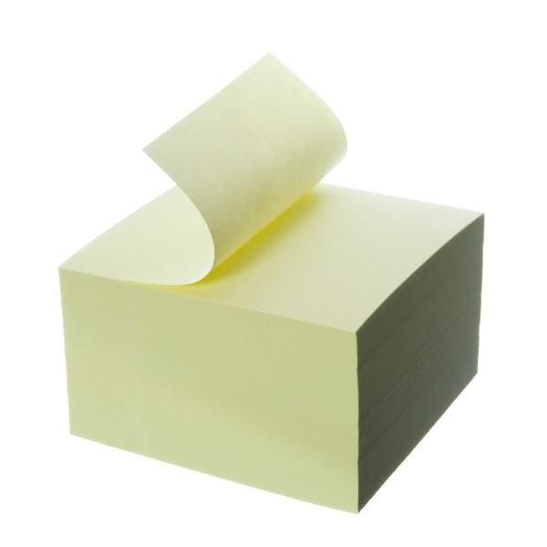 Αυτοκόλλητα χαρτάκια σημειώσεων 75mm x 75mm - κύβος