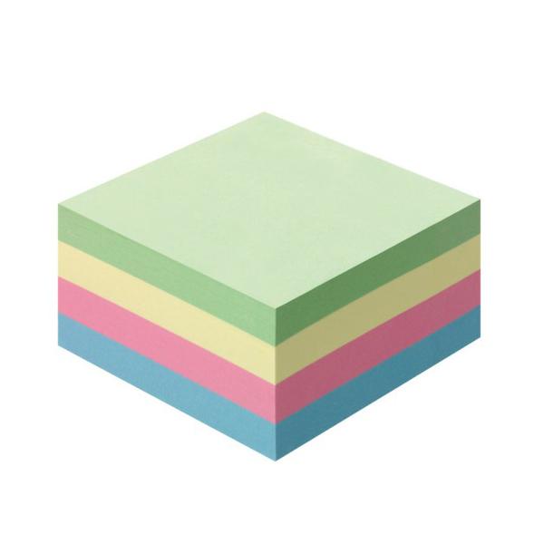 Χρωματιστά Αυτοκόλλητα χαρτάκια σημειώσεων 75mm x 75mm