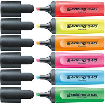 Μαρκαδόρος υπογράμμισης edding 345