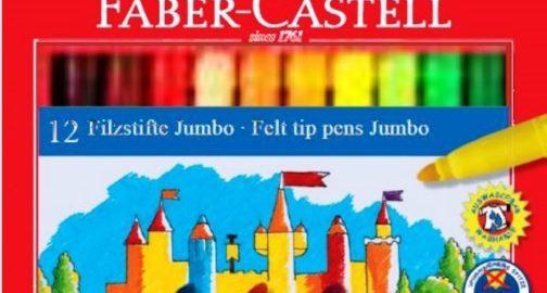 Μαρκαδόροι Ζωγραφικής Faber-Castell χονδροί.