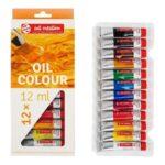 Talens Art Creation Oil Colour Set 12x12 ml
