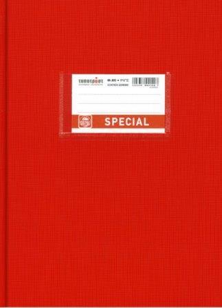Τετράδιο ριγέ βιβλιοδετημένο 80 φ